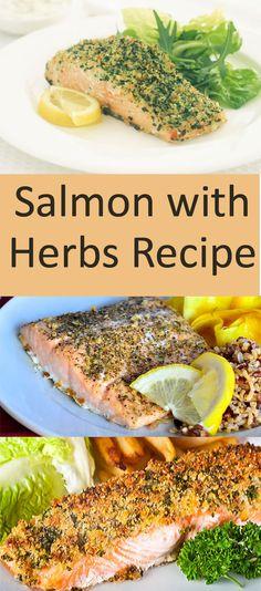 Salmon with #Herbs #Recipe