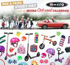 I've just entered to win a Christmas present every day from Micro Scooters. Tick off your Christmas list by winning scooters and accessories. Micro Scooter, Competition Giveaway, Scooters, Lovely Things, Christmas Presents, Giveaways, Clean Eating, Projects To Try, Calendar
