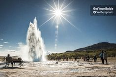Start your day in the warm and relaxing thermal waters of the Secret Lagoon natural hot springs located in the small village of Fludir. After your early access visit to the lagoon you'll head out on a full-day tour of Iceland's iconic Golden Circle.