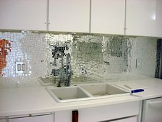Clear Glass Tile Mosaic Backsplash : Glass Tile Backsplash Ideas U2013 The  Kitchen Dahab