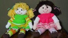 uncinettofra: bambola all'uncinetto