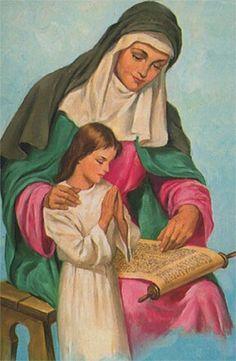 Maria e seu mãe