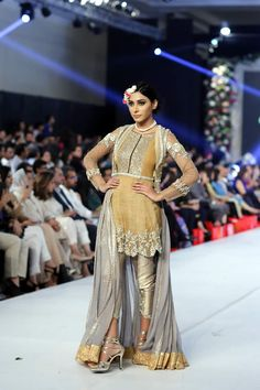 PFDC Loreal Paris Bridal Week 2015 Asifa Nabeel Dresses Collection Photo Gallery