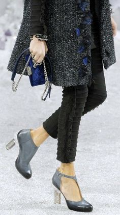 Chanel Shoes & Bag PFW 2012 Accessories