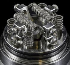 Twisted vape coil #efuntop #vapelife #vaping #twistedcoil #diycoil #ecig