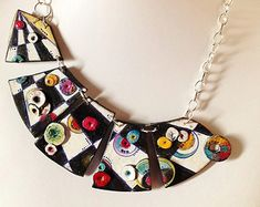Only Make to order Mirò necklace unique handmade by ImpastArte