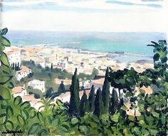 View of Algiers / Albert Marquet - 1924-1932