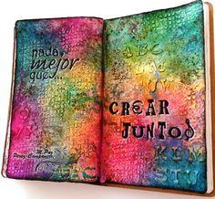 M.Paz Pérez-Campanero #artjournal. Nada mejor que crear juntos.