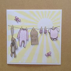 THE DAILY CARDMAKER- Craftwork Cards, Wonderful Washing Lines Collection,