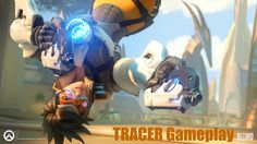 Overwatch - Tracer Gameplay - The Cavalry Is Here
