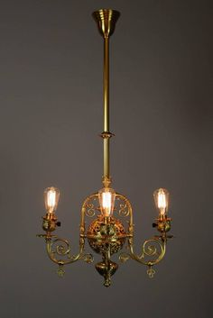 Antique victorian glass gas chandelier old eapg hanging oil kerosene exceptionally beautiful four light victorian filigree converted gas fixture from a unique collection of antique and modern chandeliers and pendants at aloadofball Image collections