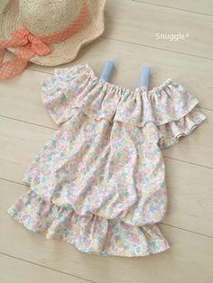 Baby Sewing, Free Pattern, Baby Kids, Kids Outfits, Sewing Patterns, Summer Dresses, Children, Handmade, How To Wear