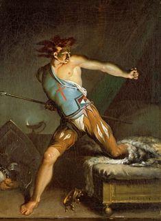 Nicolai Abildgaard Richard III Awakening from his Nightmare, 1787