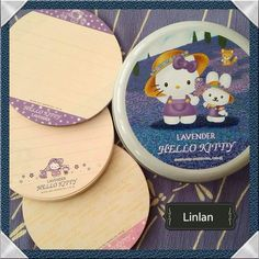 "58 Likes, 9 Comments - Lindy Mojica (Puerto Rico) (@linlan_kitty_land) on Instagram: ""Hello Kitty memo sheets in metal tin(2001) Lavender Collection 💜💜💜 #sanriovintage #hellokitty…"""