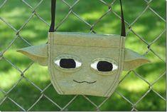 Tutorial: Felt Yoda purse
