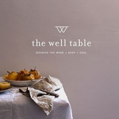 branding for The Well Table, a Denver based holistic wellness, massage therapy and food blog | designed by Andrea Crouse