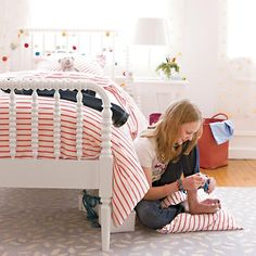 Jenny Lind Bed (White)  | The Land of Nod