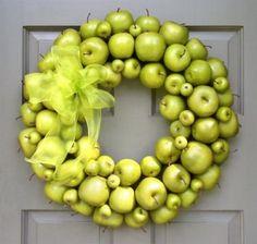 Neat fall wreath...