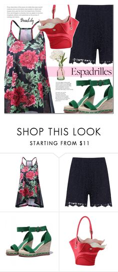 """""""Summer tops Summer beauty"""" by sofi-danka ❤ liked on Polyvore featuring Zizzi and Peony"""