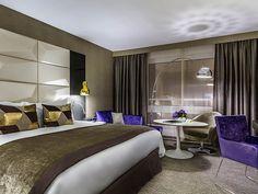 Lit king size dans la chambre Luxury de l'hôtel Sofitel Warszawa Victoria | Pologne  #Pologne #Poland #Varsovie #Warsaw #Hotel #Chambre #Bedroom #Lit #Bed