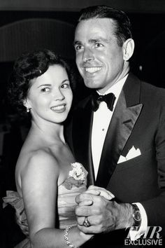 Shirley Temple Black Dallinger wanted to include this rare unpublished 1950 photograph of 22-year-old Shirley Temple Black (who died Feb. 10 at age 85) dancing with her future husband, 31-year-old Charles Black, in a never-completed second book. The former child star and future U.S. ambassador had met the San Francisco businessman in Hawaii in January 1950. Black proposed 12 days later, and the two married in December 1950