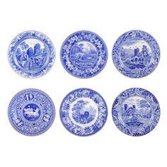 Spode Blue Room Traditions Dinner Plates - Set of 6 - 1629273  sc 1 st  Pinterest & Lenox Dinnerware Stoneware French Perle Groove Dove Grey Dinner ...