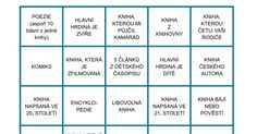 ctenarske-bingo.pdf Bingo, Teaching Ideas, Pdf