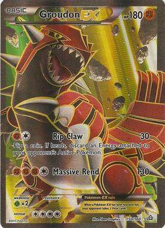 Groudon EX 150/160 FULL ART - XY Primal Clash PREORDER SHIPS 2/6 #Pokemon