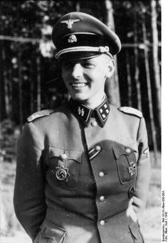 """""""SS-Sturmbannführer Dr. Hans Joachim Hajo von Hadeln of SS-Panzergrenadier-Division Wiking . He along with SS-Obersturmführer Harry Polewacz, were both killed by a sniper with the same shot."""""""