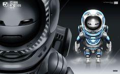 Robot Masters: Ice Man by rubendevela.deviantart.com on @deviantART
