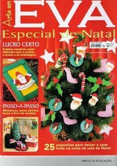 Artesanato com amor...by Lu Guimarães: Revista  Arte em EVA especial natal nº4
