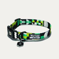 Wolfgang Process Print Dog Collar | Wayward Stock