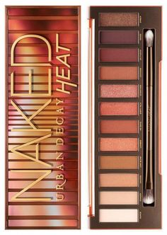 Are you excited about the NEW Urban decay Naked Heat Palette? You should be - it& HOT!, The NEW Urban Decay Naked Palette Is Revealed! Are you excited about the NEW Urban decay Naked Heat Palette? You should be - it& HOT! Eye Makeup Tips, Makeup Kit, Makeup Tools, Skin Makeup, Makeup Eyeshadow, Makeup Brushes, Makeup Ideas, Dramatic Eyeshadow, Easy Eyeshadow