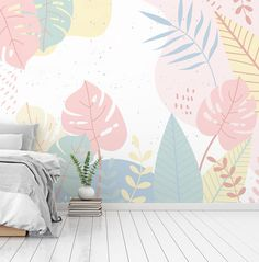 Room Wall Painting, Mural Wall Art, House Painting, Accent Wall Bedroom, Wall Art Designs, Wall Design, Inspiration Wall, Baby Decor, Wall Wallpaper