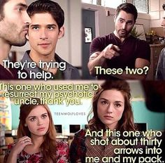 Teen Wolf cant wait for season 3b in Jan.