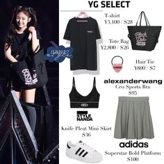 Model Outfits, Kpop Fashion Outfits, Blackpink Fashion, Pink Outfits, Celebrity Outfits, Fashion 2020, Pretty Outfits, Womens Fashion, Looks Teen