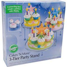Wilton 3 Tier Metal Cake Stand