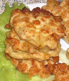 Куриные котлеты с ананасами (еще один вариант любимого  рецепта)