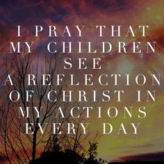 A reflection of Christ