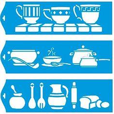 28cm x 8cm Pochoir (Jeu de 3) Réutilisable en Plastique Transparent Souple Trace Gabarit - Traçage Illustration Conception Murs Toile Tissu Meubles Décoration Aérographe Airbrush Litoarte http://www.amazon.fr/dp/B00PMEAM6G/ref=cm_sw_r_pi_dp_44Kqwb1KHZSV6