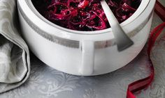 Traditional braised red cabbage with apples (Delia Smith) Holiday Recipes, Dinner Recipes, Christmas Recipes, Holiday Meals, Veg Pie, Red Cabbage With Apples, Braised Red Cabbage, Delia Smith, Welsh Recipes