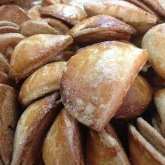 Pastelillos de Boniato y Almendra