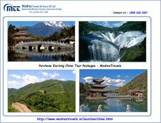 China Tour Packages From Chennai, Madras Travels & Tours offers most inspiring China tour packages from Chennai. You can customize your tour packages and enjoy them fullest with other benefits.