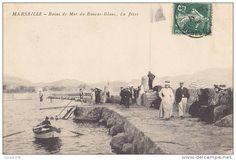 Bains de Mer du Roucas Blanc. La Jetée