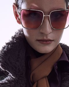 The bold Heather Sunglasses. #TOMFORD #TFEYEWEAR