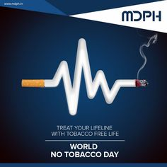 Treat your lifeline with tobacco free life. Anti Smoking Poster, Smoking Facts, No Smoking Day, Smoke Drawing, Social Media Poster, World No Tobacco Day, Packaging, Old Frames, Creative Posters