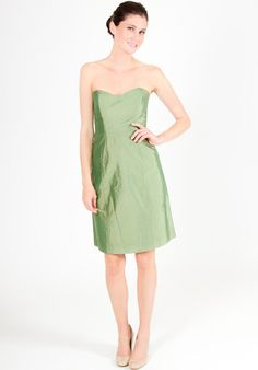 0aab8b02e246 LulaKate Pearl Green Bridesmaid Dress - The Knot Bridesmaid Outfit