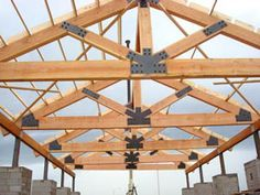 Timber Truss Pictures | American Timber Truss