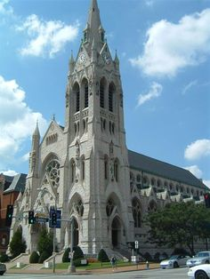 St. Francis Xavier College Church in my hometown of St. Louis, MO. Went there for years . Beautiful place