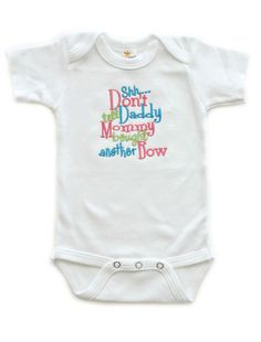 Mommy Bought Another Bow Baby Girls Bodysuit Baby Shower Gifts | All That Sass Boutique  http://www.allthatsassboutique.com/collections/retail/products/mommy-bought-another-bow